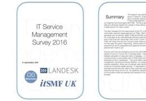 IT Service Management Survey