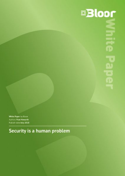 Security is a human problem